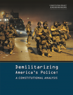 Kraska Plays Integral Role With Task Force and Report on Demilitarizing America's Police
